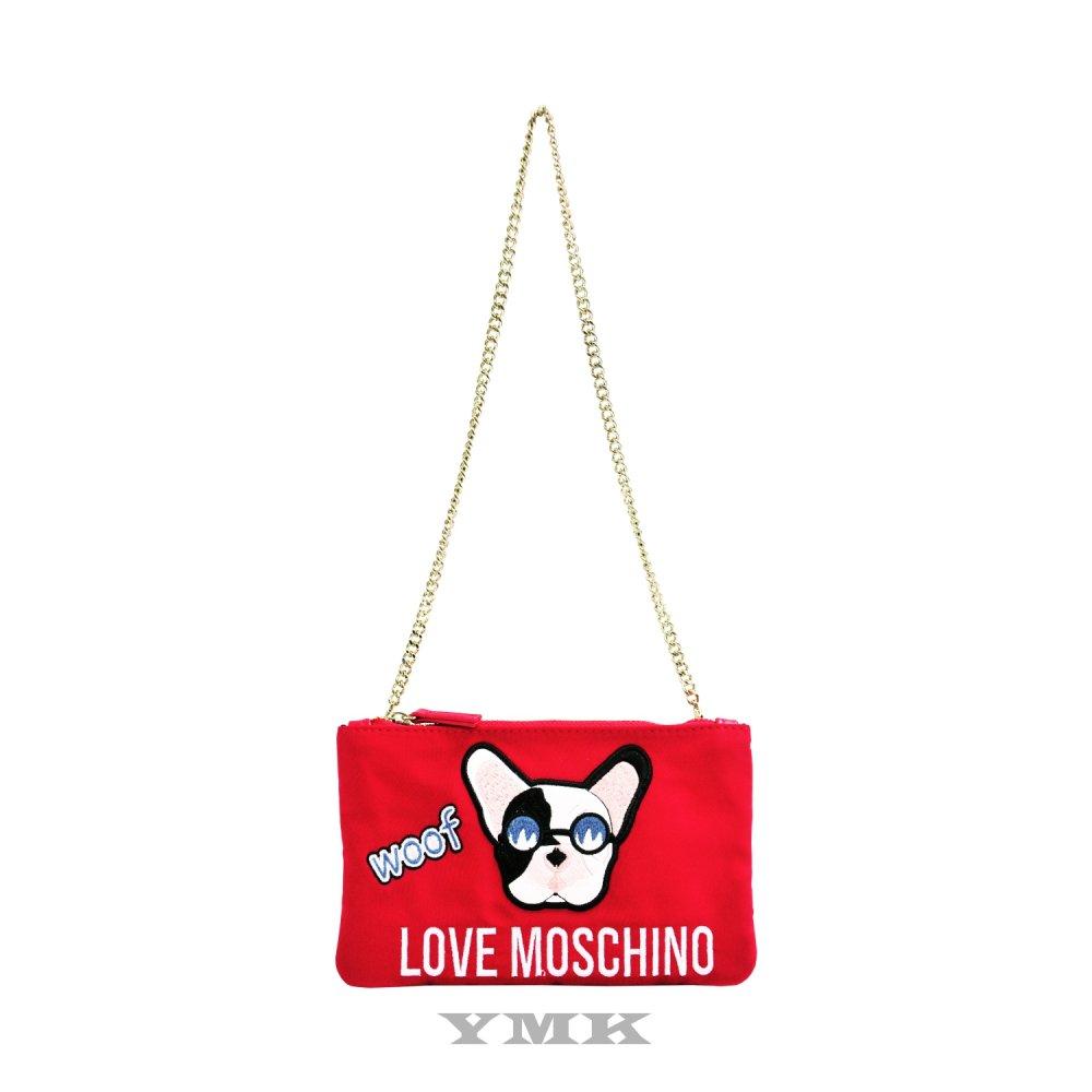 Love Moschino斜背迷你袋